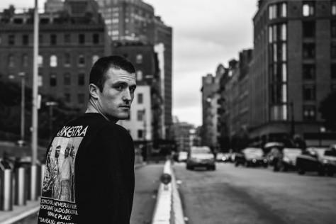 James Frecheville in Tribeca. © Reto Sterchi.