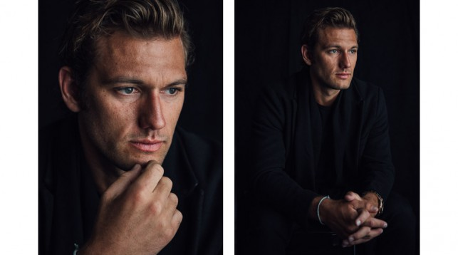Alex Pettyfer at the 2018 Tribeca Film Festival. © Reto Sterchi.