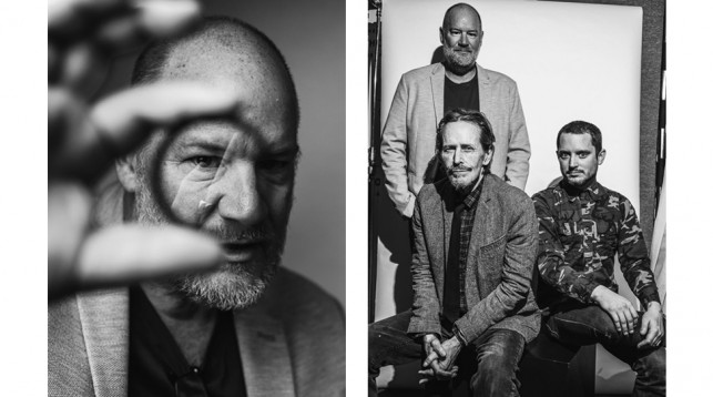 Ant Timpson, Stephen McHattie and Elijah Wood. © Reto Sterchi.