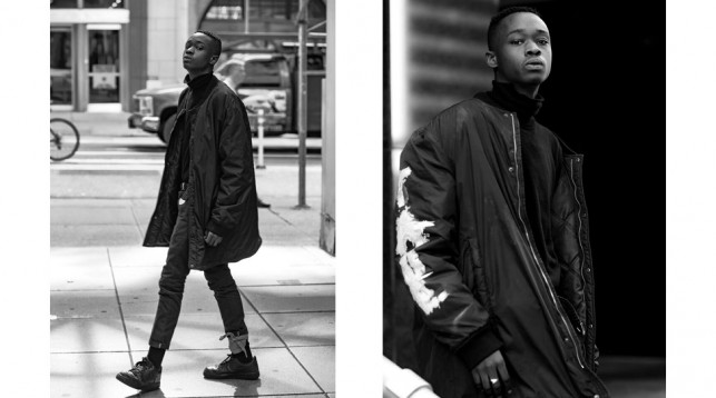 Ashton Sanders in New York City.