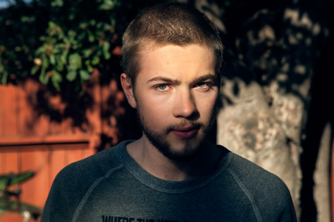 Connor Jessup in Studio City, Los Angeles.