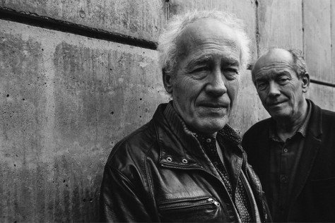 Jean-Pierre and Luc Dardenne in New York City.