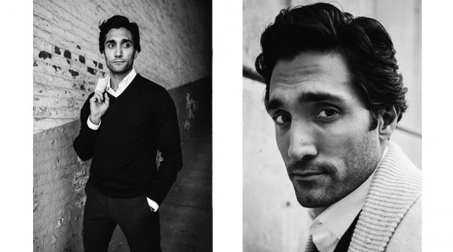 Dominic Rains in New York City. © 2016 Reto Sterchi.
