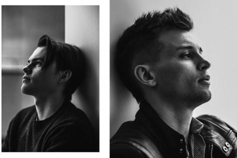 Josh Wiggins (L) and Darren Mann (R) in New York City.  © Reto Sterchi.