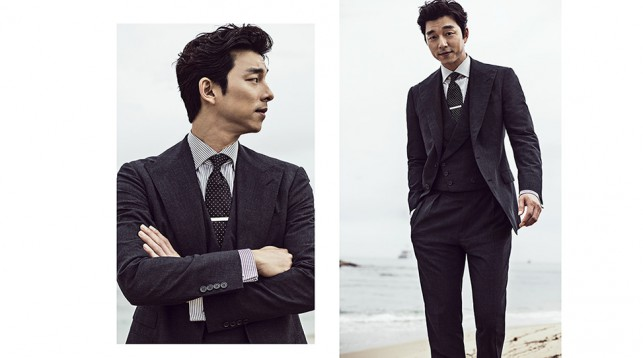 Gong Yoo at the 69th Cannes Film Festival.