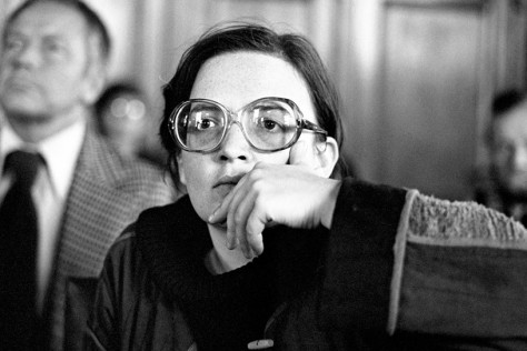 Agnieszka Holland at the 6th Gdańsk Film Festival in 1979.