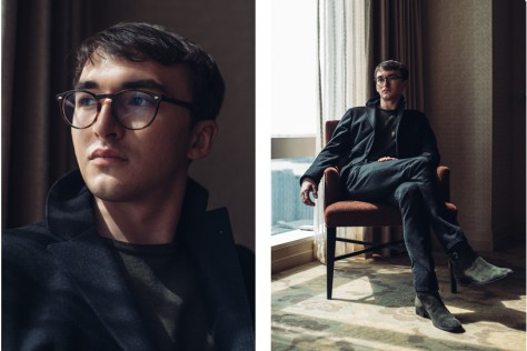 Isaac Hempstead Wright at the Mandarin Oriental in Manhattan. © Reto Sterchi.