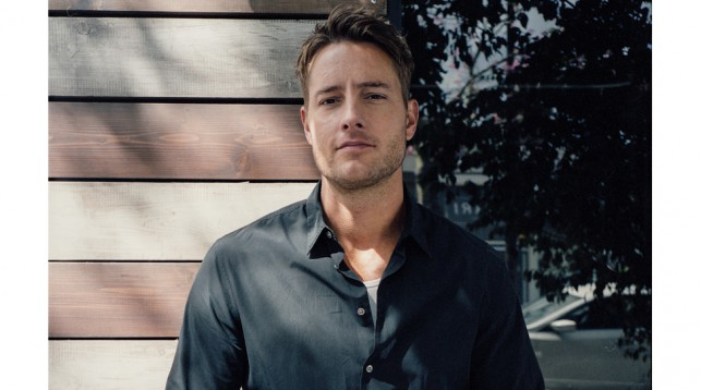 Justin Hartley in Studio City.