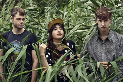 Gus Lobban (L), Sarah Bonito (C), Jamie Bulled (R)