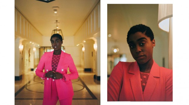 Lashana Lynch in Los Angeles. © Alix Spence.