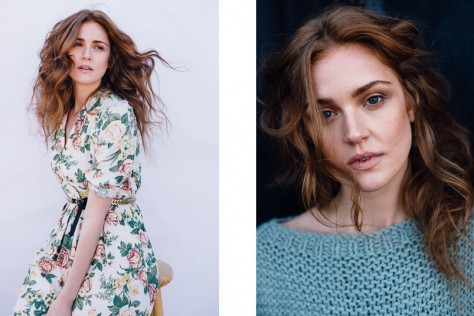 Styling by Anna Kissling. Make-up by Ta Ming Chen. Hair by Dunia Ghabour. Maggie Geha in New York City. © Reto Sterchi.