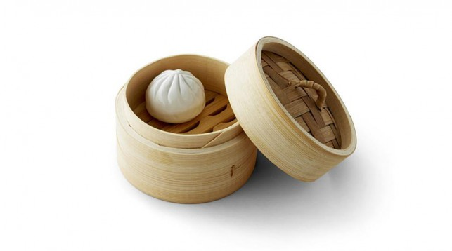 """Bao Zi"" ceramic dumpling designed by Gary Wang."