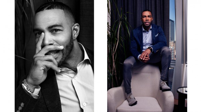 Omari Hardwick in New York City. © Jesse Dittmar.