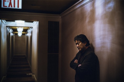 Park Chan-wook at Omni Berkshire Place in New York City.