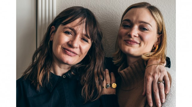 Emily Mortimer and Bella Heathcote at the Sundance Film Festival.
