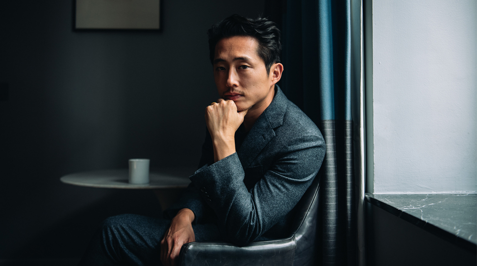 Steven Yeun in New York City. © Reto Sterchi.