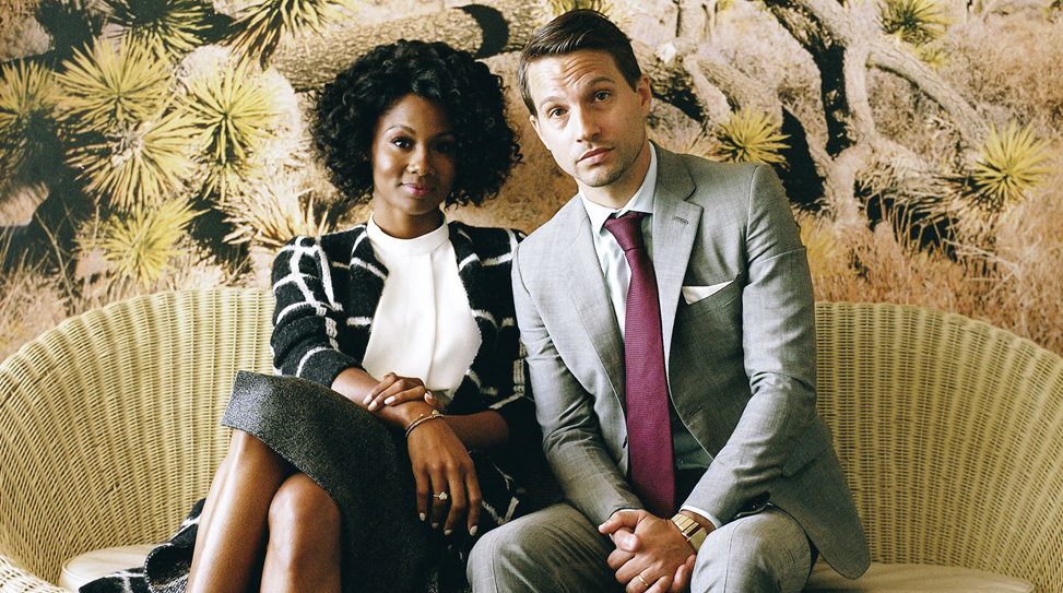 Emayatzy Corinealdi and Logan Marshall-Green