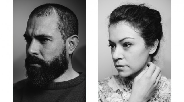 Tom Cullen and Tatiana Maslany in New York City. © 2017 Reto Sterchi.