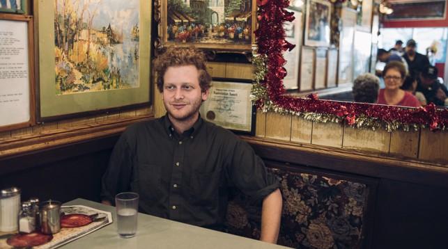 Xander Robin at Tom's in Brooklyn, NY. © Reto Sterchi.